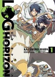 Log horizon manga 01