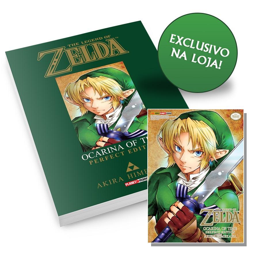 [Leitura/Mundo Real/Games(?)]Rumor: Editora brasileira adquiriu os direitos de mangá de Zelda Zelda-capa